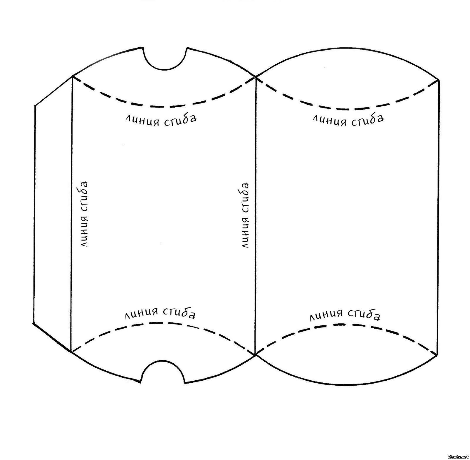 Коробки для подарков своими руками шаблон